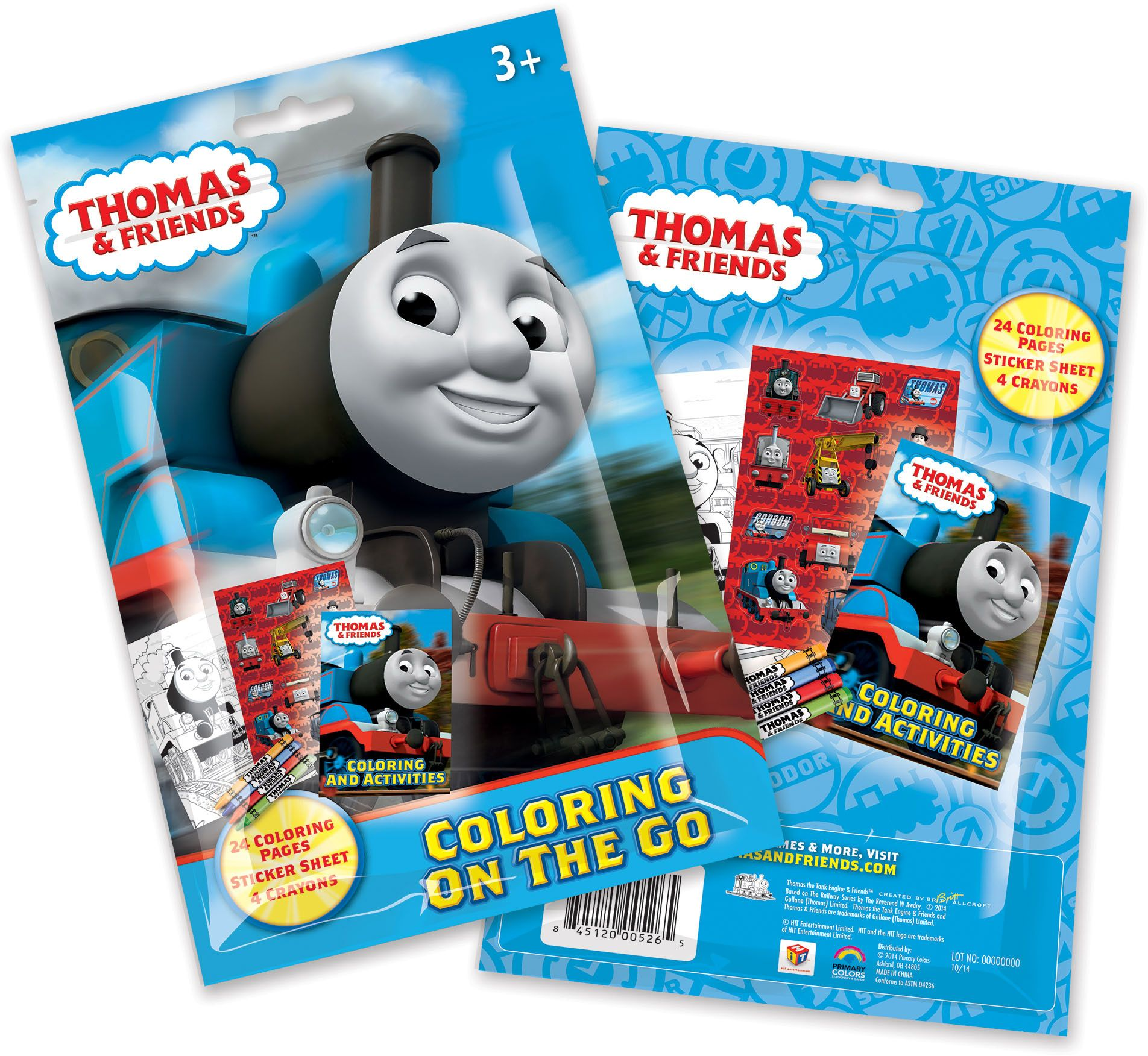 Thomas and Friends Coloring Pouch Set (Each) - Party Supplies | eBay